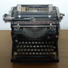 Old Timey Typewriter