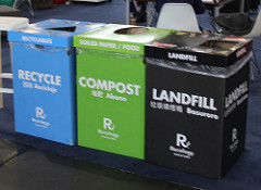 Recycling containers at DrupalCon