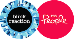 Blink Reaction Pro People Logo