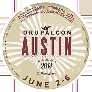 DrupalCon Austin Badge