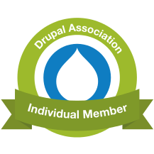 Torsten Zenk is proud member of the Drupal Association