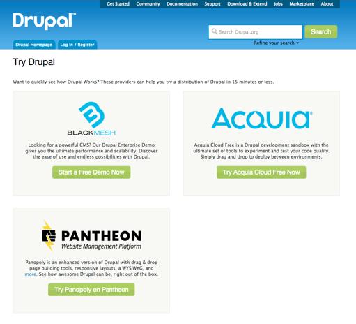 Try Drupal