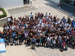 DrupalCamp Mexico City 2014 group photo